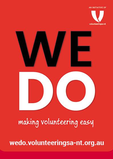 Volunteering Sa Nt Wedo App Sacommunity Connecting Up Australia